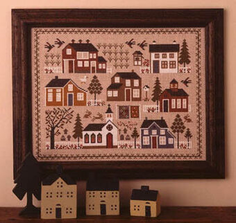 Village Sampler - Cross Stitch Pattern