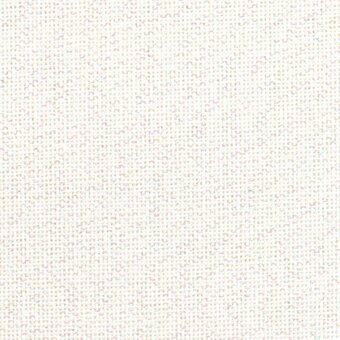 28 Count White Opalescent Lugana Fabric 13x18