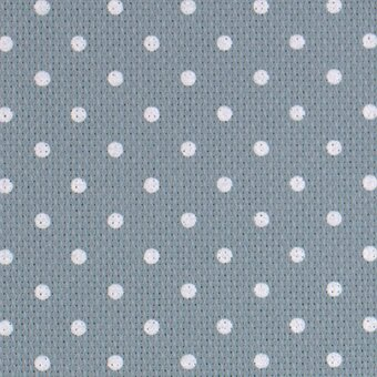 20 Count Blue/White Petite Point Aida Fabric 21x36