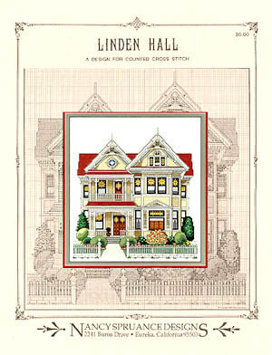 Linden Hall - Cross Stitch Pattern