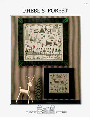 Phebe's Forest - Cross Stitch Pattern