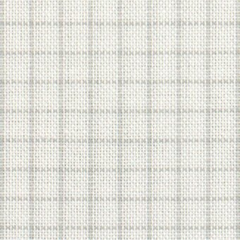 32 Count Easy Count Grid White/Grey Lugana Fabric 13x18