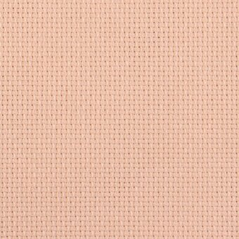 16 Count Touch of Peach Aida Fabric 36x51