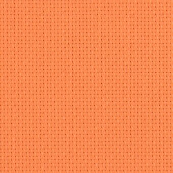 14 Count Tropical Orange Aida Fabric 18x25