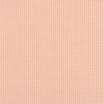 14 Count Touch of Peach Aida Fabric 25x36