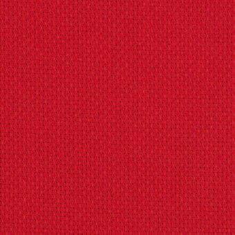 14 Count Christmas Red Aida Fabric 25x36