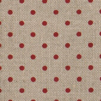 32 Count Petit Point Red/Natural Belfast Linen Fabric 9x13