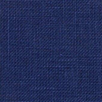 Zweigart 32 count linen cross stitch embroidery Navy dark blue midnight sky