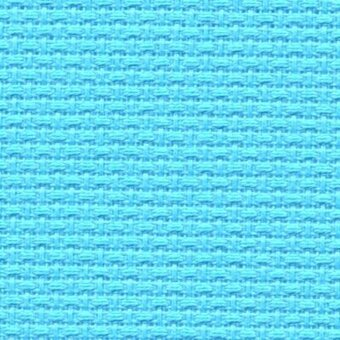 14 Count Alaskan Blue Aida Fabric 18x21