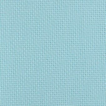 14 Count Aqua Blue Aida Fabric 21x36