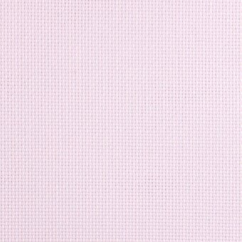 18 Count Baby Pink Aida Fabric 10x18