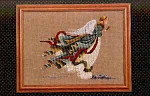 Angel of Light - Cross Stitch Pattern