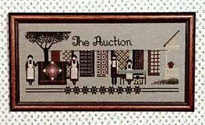 Auction, The - Cross Stitch Pattern