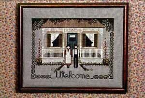 Amish Welcome - Cross Stitch Pattern
