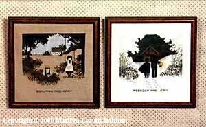 (Winter & Summer)  Amish Kids - Cross Stitch Pattern