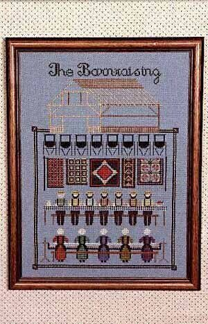 Barn Raising (The) - Cross Stitch Pattern