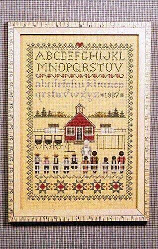 Schoolhouse Sampler - Cross Stitch Pattern