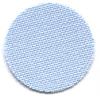 32 Count Light Blue Lugana Fabric 36x55