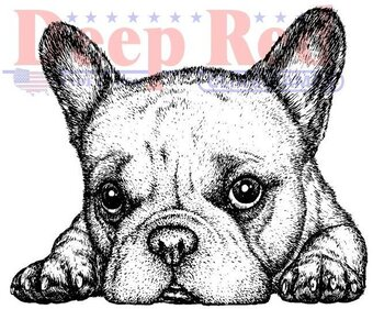 French Bulldog - Cling Stamp