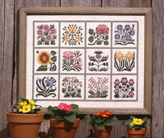 Prairie Garden - Cross Stitch Pattern