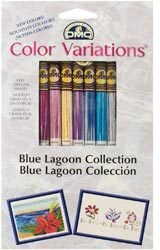 DMC Color Variations Floss Pack - Blue Lagoon