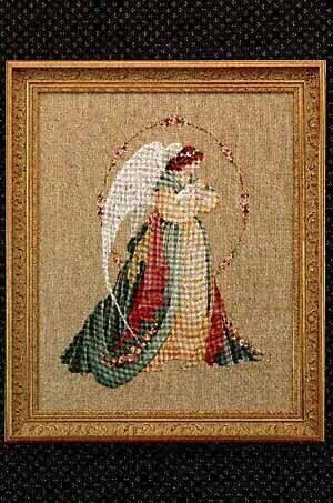 Guardian Angel - Cross Stitch Pattern