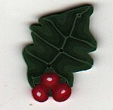 Large Holly - Button