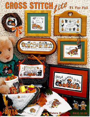 Cross Stitch Lite #1 Fall - Cross Stitch Pattern
