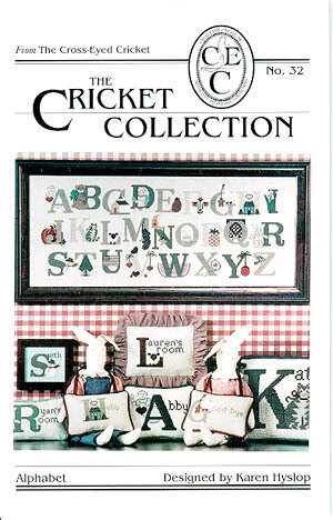 Alphabet 32 - Cross Stitch Pattern