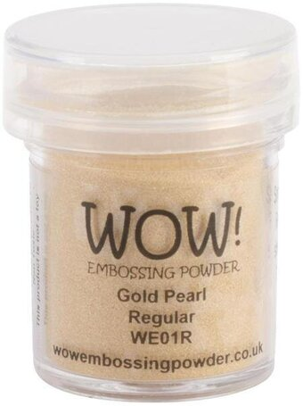 Gold Pearl WOW Embossing Powder 15ml