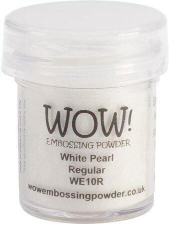 White Pearl WOW! Embossing Powder 15ml
