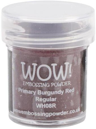 Primary Burgundy Red WOW Embossing Powder 15ml