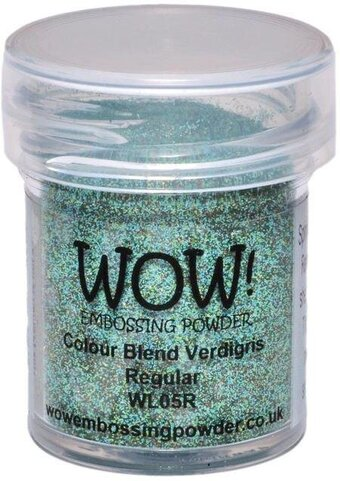 Opaque Verdigris WOW! Embossing Powder 15ml