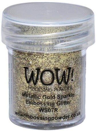 Metallic Gold Sparkle WOW! Embossing Powder 15ml