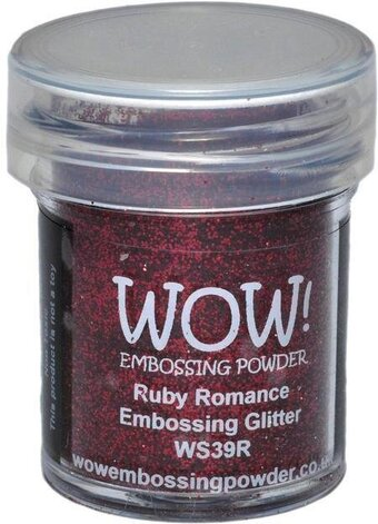 Ruby Romance WOW! Embossing Powder 15ml