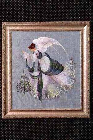 Lavender And Lace Ice Angel Cross Stitch Pattern 123stitch