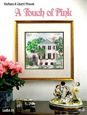 Touch Of Pink (A) - Cross Stitch Pattern