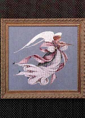 Angel of Spring - Cross Stitch Pattern