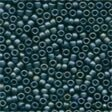 Mill Hill 62021 Frosted Gunmetal Beads - Size 11/0