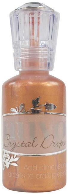 Nuvo Crystal Drops Collection - Metallic Copper Penny