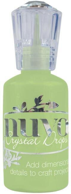 Nuvo Crystal Drops Collection - Gloss Apple Green