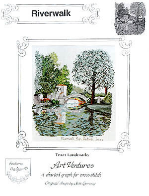 River Walk San Antonio - Cross Stitch Pattern