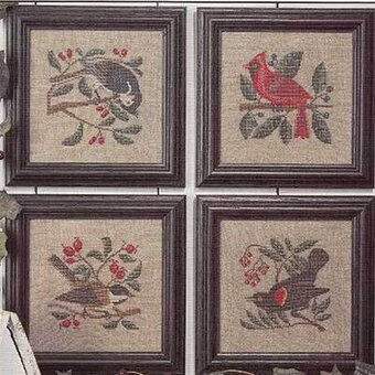 Birds & Berries - Cross Stitch Pattern