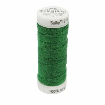 Jolly Green - Sulky 12wt Cotton Petites Thread 50 yds