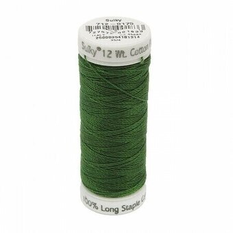 Palm Green - Sulky 12wt Cotton Petites Thread 50 yds