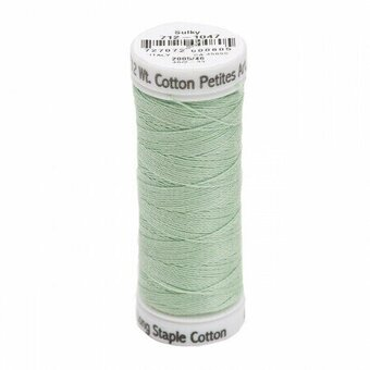 Mint Green - Sulky 12wt Cotton Petites Thread 50 yds