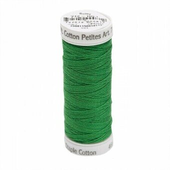 Christmas Green - Sulky 12wt Cotton Petites Thread 50 yds