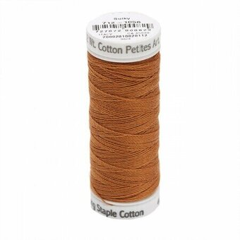Medium Tawny Tan - Sulky 12wt Cotton Petites Thread 50 yds