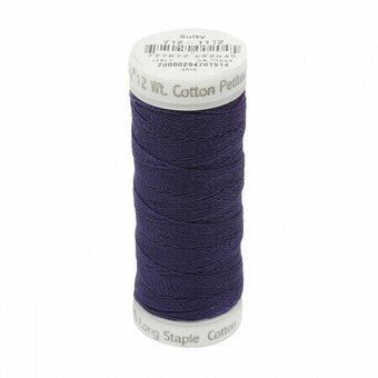 Royal Purple - Sulky 12wt Cotton Petites Thread 50 yds