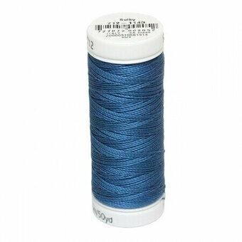 True Blue - Sulky 12wt Cotton Petites Thread 50 yds